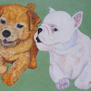 Twee pups